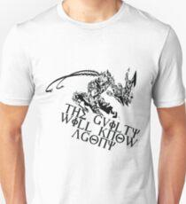 Varus Black and White T-Shirt
