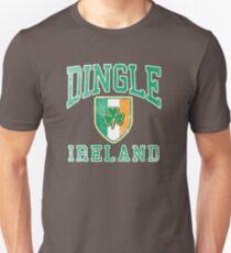 Dingle, Ireland with Shamrock Unisex T-Shirt