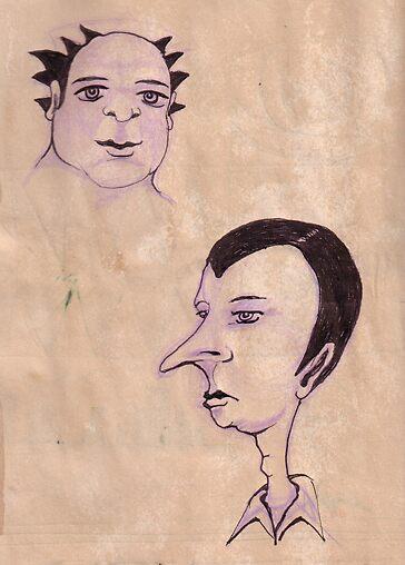 characters by Vanessa Baldwin