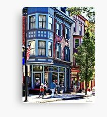 Jim Thorpe PA - Window Shopping Canvas Print