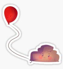 Balloon & Rock Sticker
