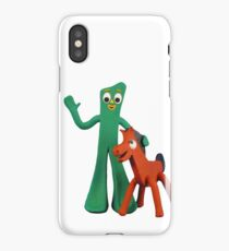 Gumby and Pokey  iPhone Case/Skin