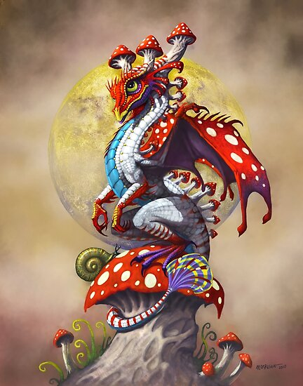 MUSHROOM DRAGON by Stanley Morrison