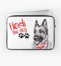 Heidi the Dog Laptop Sleeve