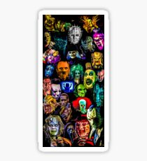 horror collection  Sticker