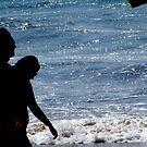 Lovers on the Beach by ShootingSardar