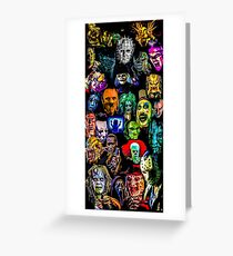 horror collection  Greeting Card