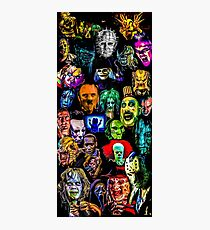 horror collection  Photographic Print