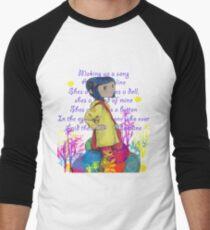 Song About Coraline Men's Baseball ¾ T-Shirt