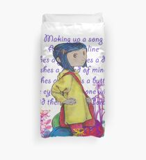 Song About Coraline Duvet Cover