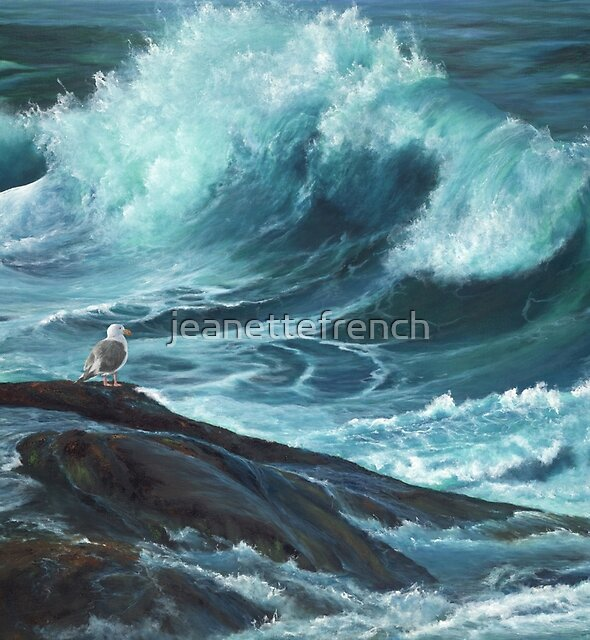 High Tide by jeanettefrench