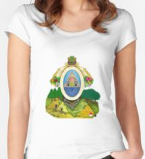 Honduras Coat of Arms Women's Fitted Scoop T-Shirt