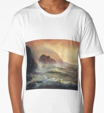 Waves After the Storm Long T-Shirt