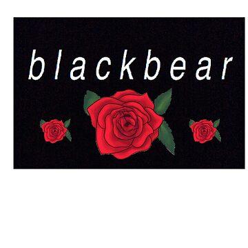 blackbear three rose design by emathechickenlo