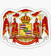 Hawaii Coat of Arms Sticker