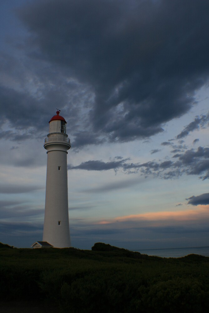 Split Point Lighthouse, Victoria by Leigh Penfold