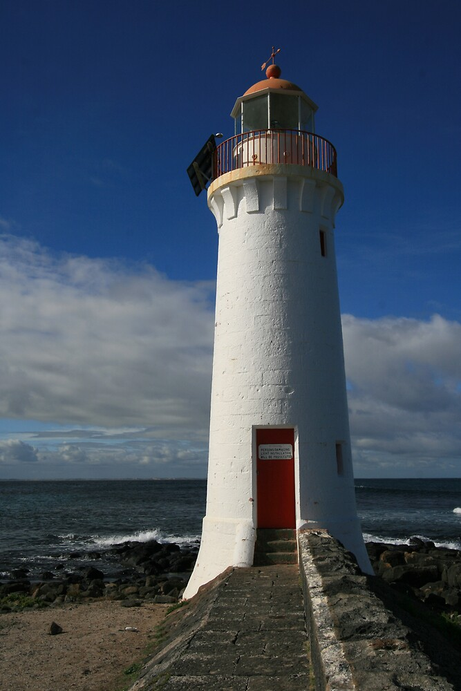 Port Fairy Lighthouse, Victoria by Leigh Penfold