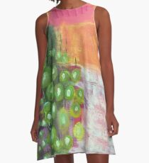 Abstract #34 A-Line Dress