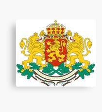 Bulgaria Coat of Arms Canvas Print