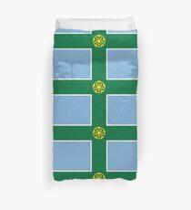 Flag of Derbyshire Duvet Cover