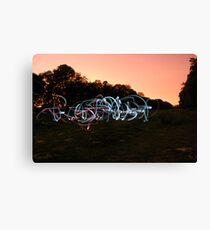 Mobile Phone Pollution Canvas Print