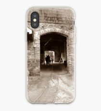 Enter the Past iPhone Case