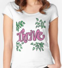 Thrive - Inspire  Women's Fitted Scoop T-Shirt