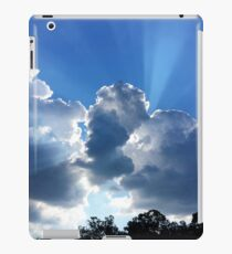 """Clouds and Sun Rays"" iPad Case/Skin"