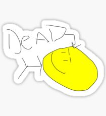 Dead Guy Sticker