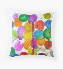 Color Pops Throw Pillow