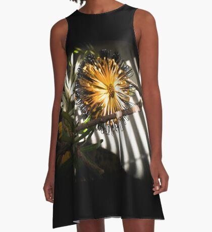 Banksia Still Life A-Line Dress
