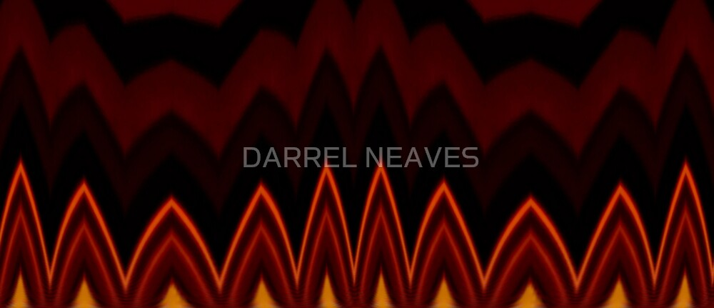 red flame by DARREL NEAVES