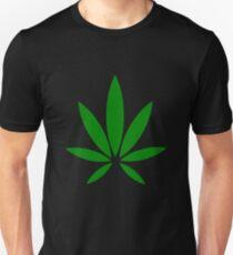 hemp symbol green Unisex T-Shirt