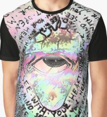 Open your Mind, See with your Heart Graphic T-Shirt