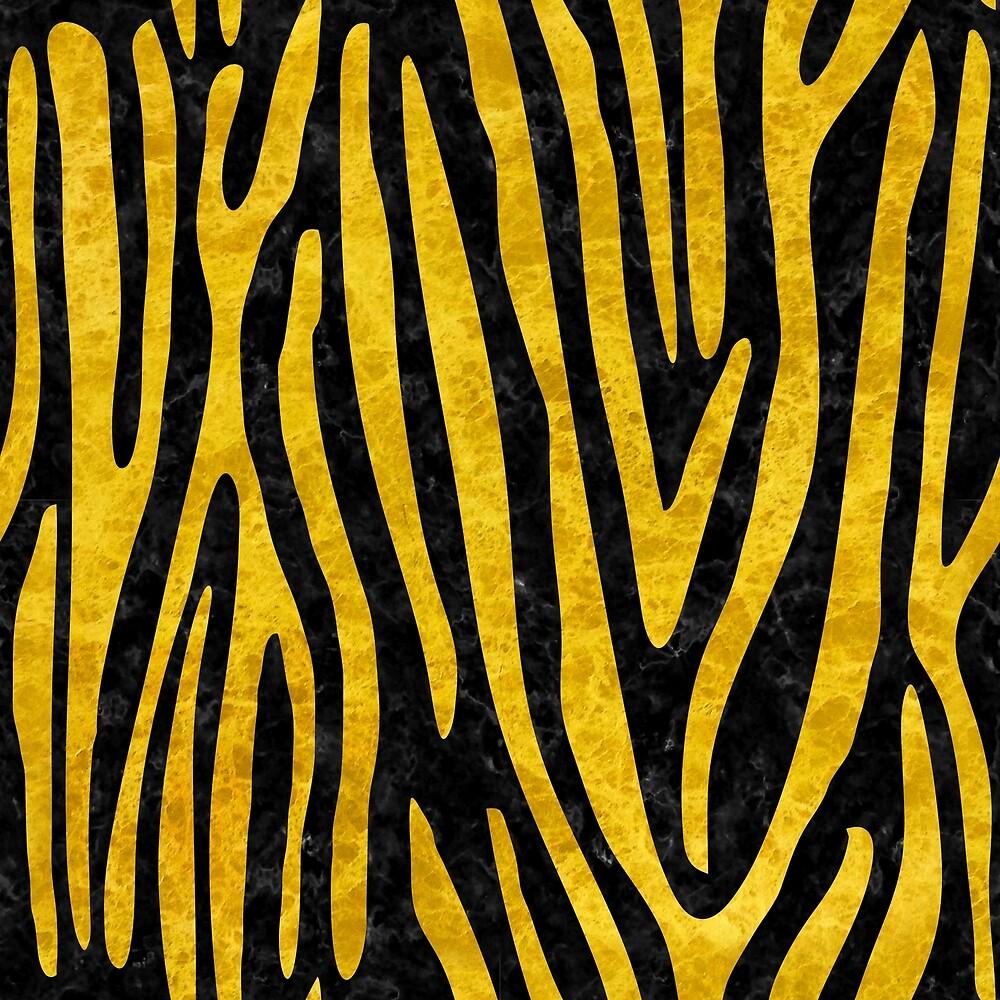 SKIN4 BLACK MARBLE AND YELLOW MARBLE (R) by johnhunternance