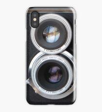 Vintage TLR Film Camera iPhone Case/Skin