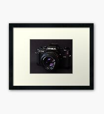 Classic 35mm Film Camera Framed Print