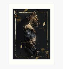King Mcgregor | Safe AF Designs Art Print