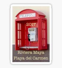 Riviera Maya Playa del Carmen Sticker