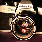 Classic 1960's 35mm SLR Camera by wayneyoungphoto