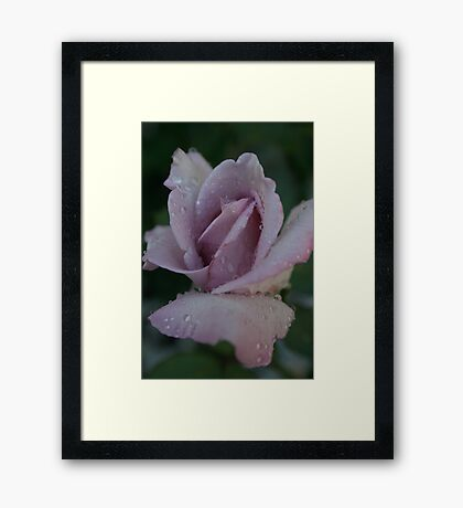 BLESSED WITH RAIN Framed Print