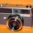 Vintage Camera 1960s  by wayneyoungphoto