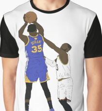 Kevin Durant Clutch Shot Over LeBron James Graphic T-Shirt