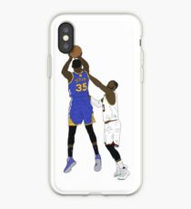 Kevin Durant Clutch Shot Over LeBron James iPhone Case
