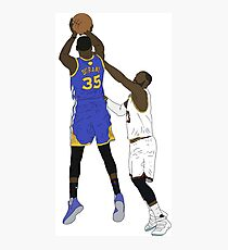Kevin Durant Clutch Shot Over LeBron James Photographic Print