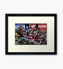 Stampede Monster AMA Supercross, Seattle WA Framed Print