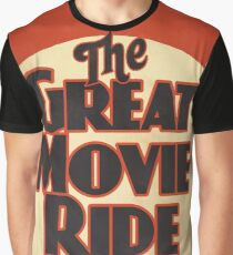 The Great Movie Ride Graphic T-Shirt