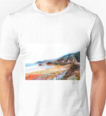 mountain with ocean view at Big Sur, California, USA T-Shirt