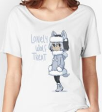 Lonely Wolf Treat Women's Relaxed Fit T-Shirt