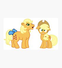 my little pony applejack Photographic Print